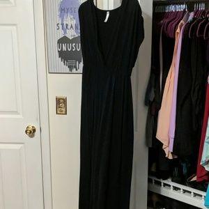 Lane Bryant Black Maxi Dress Size 18/20